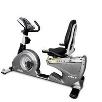 Bicicleta Ergométrica KR9.9 Aço Carbono Horizontal Kikos Fitness KW Cinza -