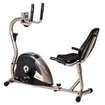 Bicicleta Ergométrica Mormaii DROP 5000 H, 6 Funções, Titanium - 3155 -