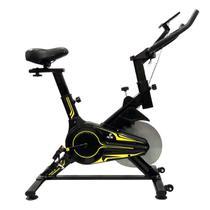 Bicicleta Ergométrica Para Spinning Preta E Verde E16 Acte -