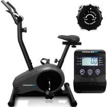 Bicicleta Ergométrica Podiumfit V300 Magnética 8cargas 150kg -