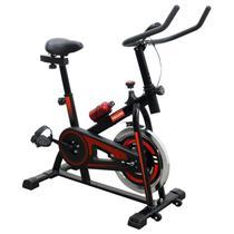 Bicicleta Ergométrica Spinning 6kg com Monitor - Nagano