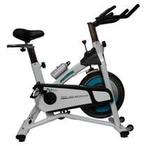 Bicicleta Ergométrica Spinning Branca 120 Kg O'Neal -