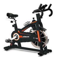 Bicicleta ergometrica spinning preta 120kg oneal tp1100 - O'Neal
