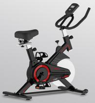 Bicicleta ergometrica spinning vermelha 90kg oneal tp1300 - Oneal