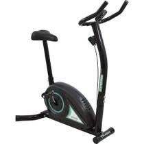 Bicicleta Ergométrica Tração Magnética 5 Funções Trevalla TF-4300 Preta -