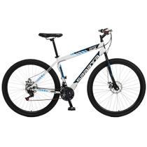 Bicicleta Esportiva Aro 29 Freio a Disco Sparta Quadro 19 Aço Branco - Colli Bike -
