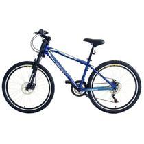 Bicicleta Extreme Aro 26 Freio a Disco Fischer Azul -