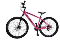 Bicicleta Feminina 29 Foxxer Pisa 21v. Rosa aro19 -