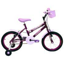 Bicicleta Feminina Aro 16 Fadinha Cairu -