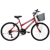 Bicicleta feminina aro 26 21 marchas bella - 310750 -  / 2 - Cairu