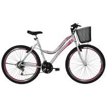 Bicicleta Feminina Aro 26 Athor Musa 18v Aro Aero Com Cesta - Athor Bikes