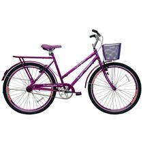 Bicicleta Feminina Cairu Aro 26 com Cesta Personal Genova -