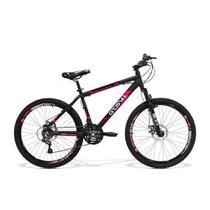 Bicicleta Feminina GTS Aro 26 Freio a Disco Câmbio Traseiro Shimano 21 Marchas e Amortecedor  GTS M1 Walk New - Gtsm1