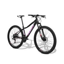 Bicicleta Feminina GTS Aro 29 Freio a Disco Câmbio Traseiro Shimano 24 Marchas e Amortecedor GTS M1 Ride Feminina - Gtsm1