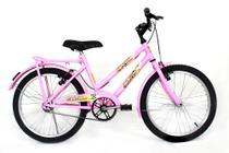 Bicicleta Feminina Infantil Aro 20 Paralama E Bagageiro - Wrp