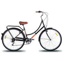 Bicicleta feminina mobele imperial 7v preta -