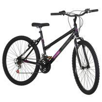 Bicicleta Feminina Preta Fosca Aro 26 18 Marchas Pro Tork Ultra - Ultra Bikes