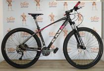 Bicicleta Feminina RAVA Storm aro 29 - 27v Acera (Novo) - Freio Hidráulico -