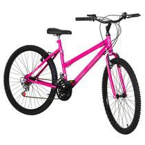 Bicicleta Feminina Rosa Aro 26 18 Marchas Aço Pro Tork Ultra - Ultra Bikes