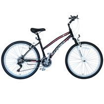 Bicicleta Fischer FStar Aro 26 Feminina V-Brake Preto -