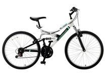Bicicleta Fisher Hill Razer Aro 26 21 Marchas  - Dual Suspension Freio V-Brake