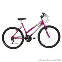 Bicicleta freedom aro 26 feminina onix pink verniz - Freedom Bike