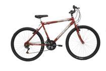 Bicicleta Freedom Bike Aro.26 Onix 18v Masculina Vermelha -