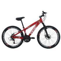 Bicicleta Freeride Aro 26 Freio a Disco 21 Vel. Viking X - Viking-X