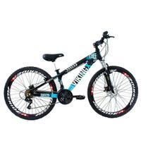 Bicicleta Freeride VikingX Aro 26 Freio à Disco 21V -