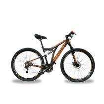 Bicicleta Full Everest 29 Freio a Disco - Cambios Shimano 2.0 - 21v - Rino-correta
