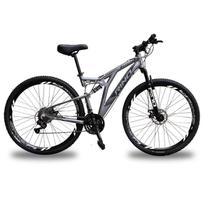 Bicicleta Full Everest 29 Freio Hidraulico - Shimano Altus 24v - Rino-correta