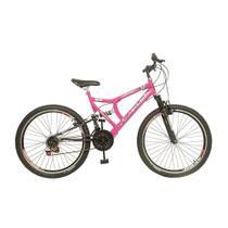 Bicicleta Full Gold Aro 26 Freios V.Brake 21 Marchas KLS -