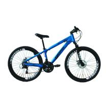 Bicicleta Gios FRX Freeride Aro 26 Freio a Disco 21 Velocidades Cambios Shimano  Gios Azul Fosco -