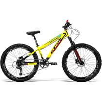 Bicicleta GTS Aro 26 Freio a Disco Hidráulico Câmbio GTS TSI 7 Marchas e Amortecedor  GTS M1 420x FreeRide - GTSM1