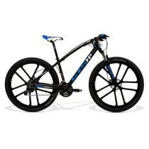 Bicicleta GTS Aro 29 Freio a Disco Hidráulico Câmbio MX9 27 Marchas e Amortecedor com Rodas de Magnésio  GTS M1 I-VTEC MX9 Magnésio - Gtsm1