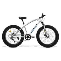 Bicicleta GTS  Fat Aro 26 com Freio a Disco 9 Marchas Câmbio MicroNew  GTS M1 RACER FAT - GTSM1
