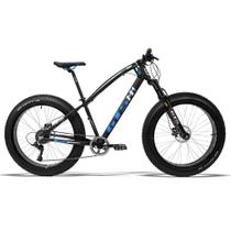 Bicicleta GTS Fat Bike Tsi 9 Aro 26 com Freio a Disco Hidráulico Cambio GTSM1 TSI 9 Marchas e Quadro de Alumínio  GTS M1 I-Vtec FAT -