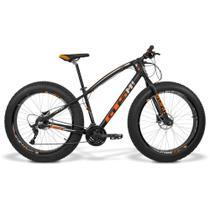 Bicicleta GTS Fat Tsi 7 Aro 26 com Freio a Disco Hidráulico 21 Marchas e Quadro de Alumínio  GTS M1 I-Vtec FAT - GTSM1
