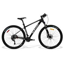 Bicicleta GTS M1 Aro 29 Advanced New Full Câmbio Shimano 21 marchas - Branco