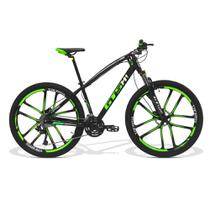 Bicicleta GTS M1  Aro 29  I-Vtec Absolute MagnésioFreio Hidráulico 27 marchas - Verde