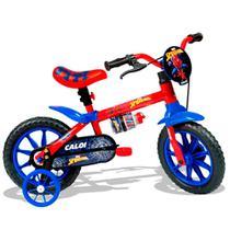 Bicicleta Homem Aranha Aro 12 - Caloi -