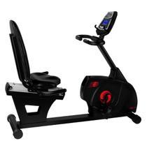 Bicicleta horizontal eletrica 367 c linha premium embreex -