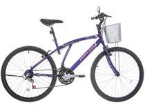 Bicicleta Houston Bristol Lance Aro 26 - 21 Marchas Freio V-Brake