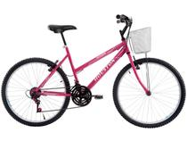 Bicicleta Houston Foxer Maori Mountain Bike Aro 26 - 21 Marchas Freio V-brake
