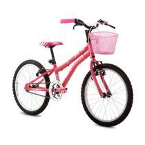 Bicicleta Houston Nina Aro 20 Feminina com Cesta -