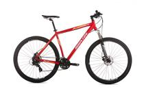 Bicicleta HT90 Aro 29 TM15 Vermelha Houston