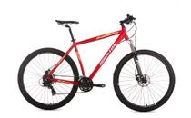 Bicicleta HT90 Aro 29 TM17 Vermelha Houston -