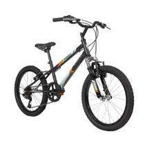 Bicicleta Inf. Caloi Pixel Aro 20 Supensão dianteira 7 Vel -