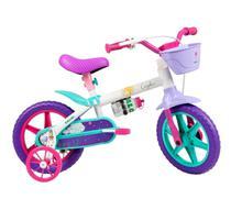 Bicicleta Infantil Aro 12 Cecizinha com rodinhas Caloi 3+ -