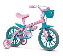 Bicicleta Infantil Aro 12 Charm Rosa - Nathor -